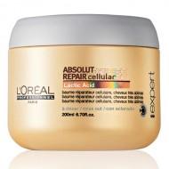 Absolut Repair Cellular - Маска за силно изтощени коси - 200 ml