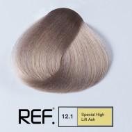 12.1 REF Colours - Специално най-светло пепелно русо - 100 ml