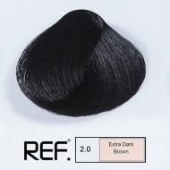 2.0 REF Colours - Супер тъмно кафяво - 100 ml