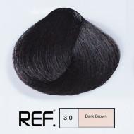 3.0 REF Colours - Тъмно кафяво - 100 ml