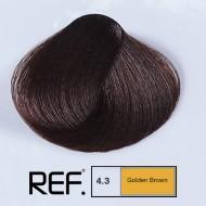 4.3 REF Colours - Златно кафяво - 100 ml
