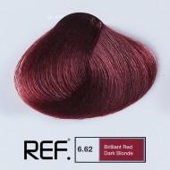 6.62 REF Colours - Ярко червено тъмно русо - 100 ml