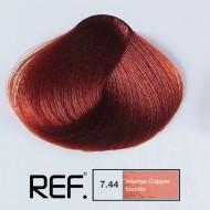 7.44 REF Colours - Интензивно медно русо - 100 ml