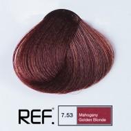7.53 REF Colours - Махагон златно русо - 100 ml