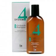 Шампоан № 1 с климбазол за нормална до мазна коса - 215 ml